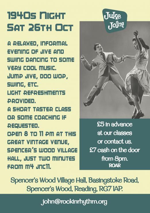 1940s Dance Event